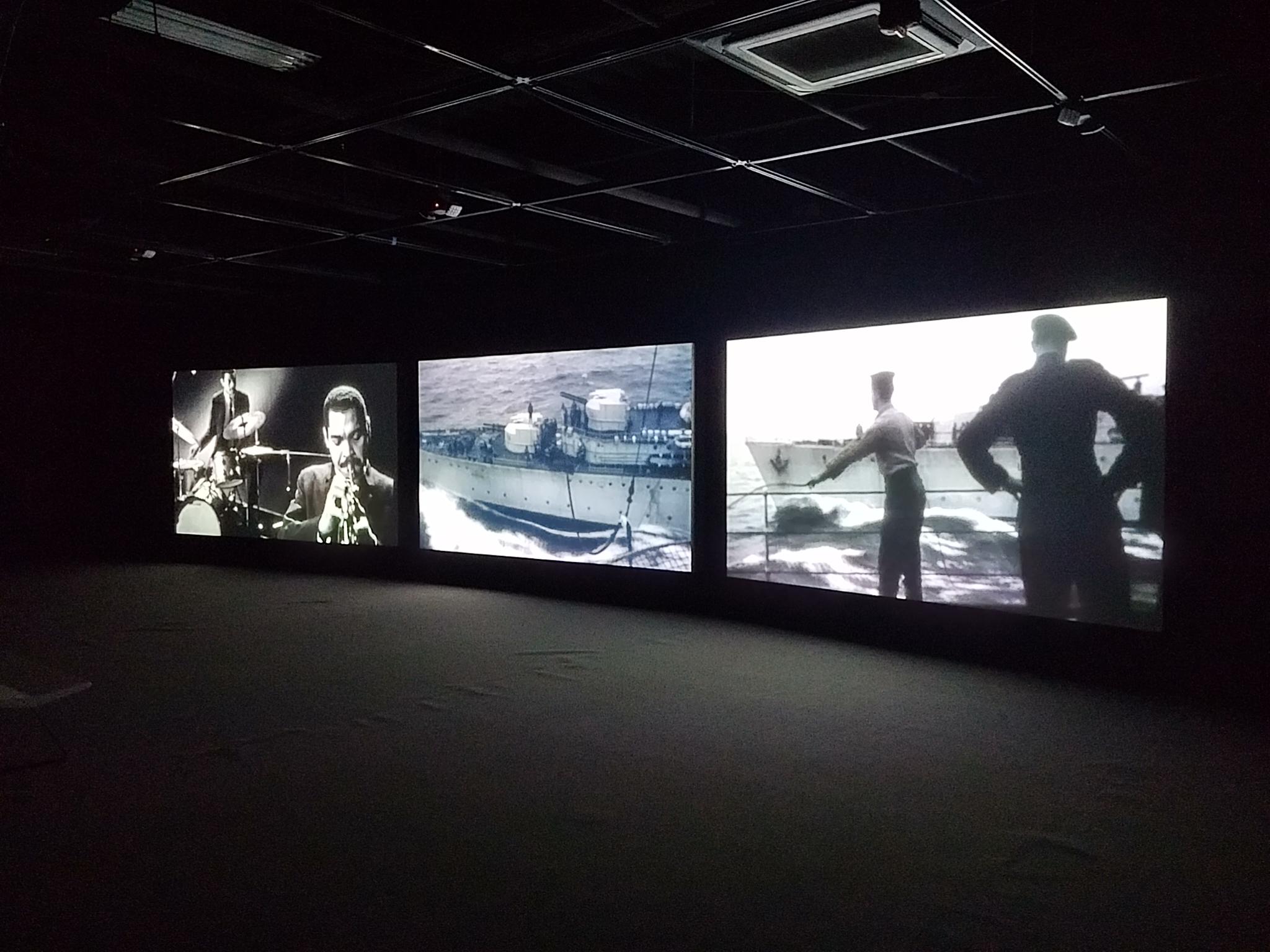 John Akomfrah's three-screen documentary highlighted the work of cultural theorist Stuart Hall.