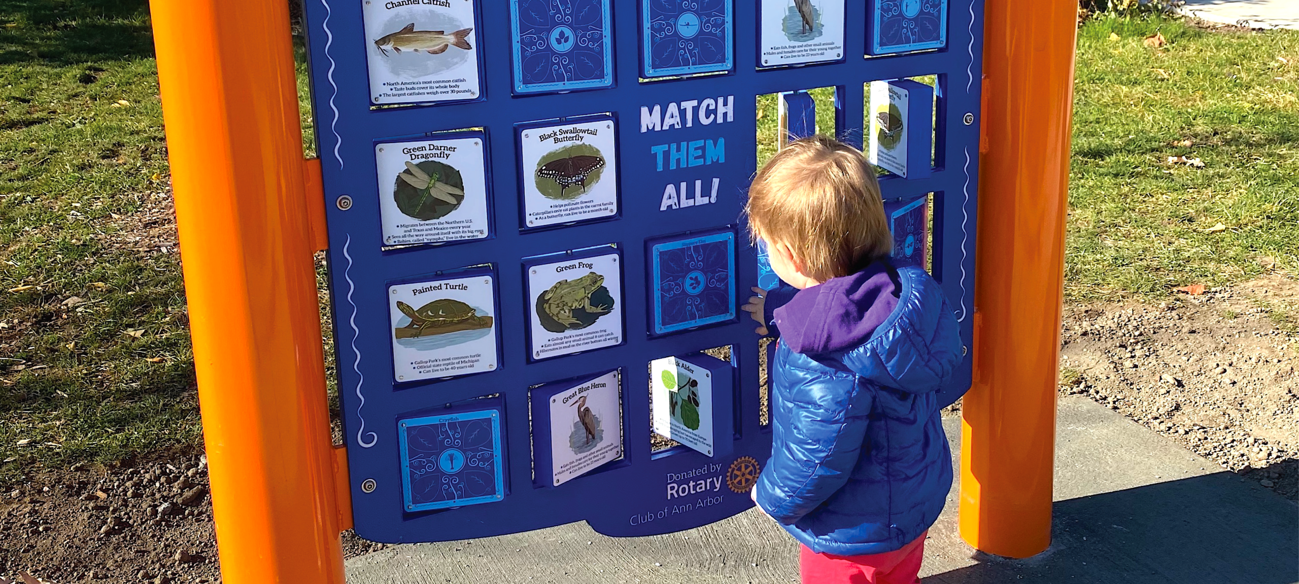 This concentration-style game encourages nature exploration through the use of local flora and fauna.